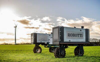 Markrobotter køre på biodiesel