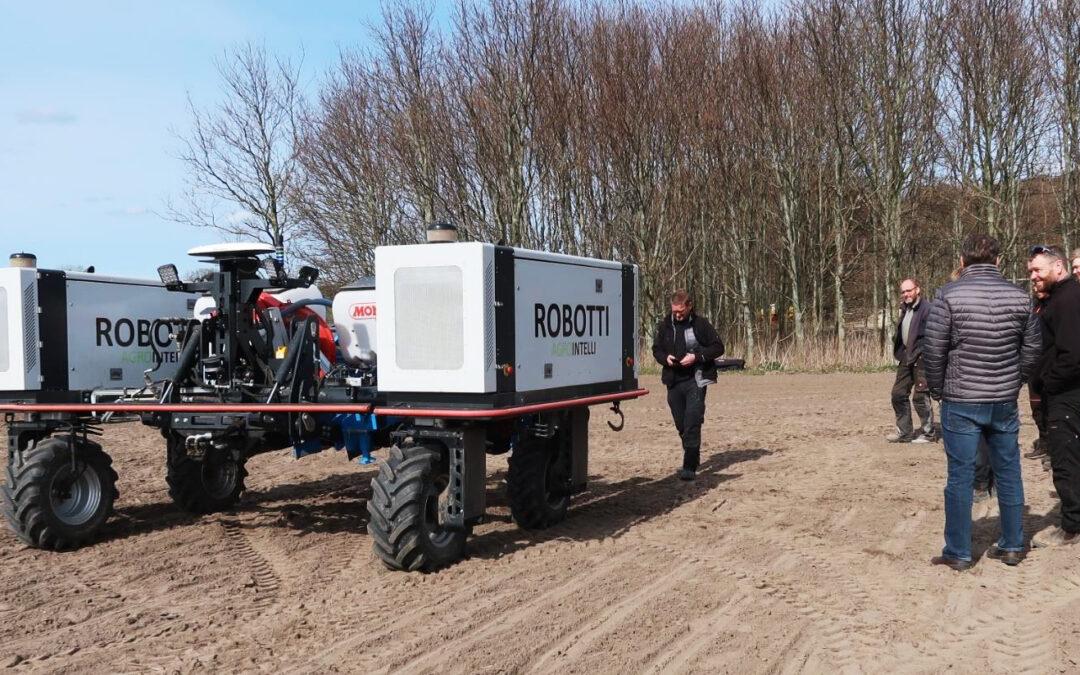 Robot på biodiesel vist frem på Sjælland