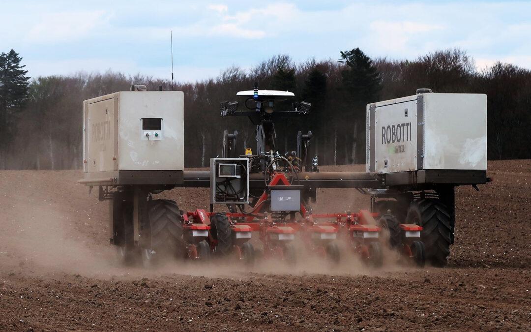 Robotti på biodiesel vækker opmærksomhed