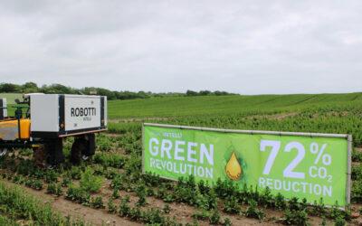 Markrobot på biodiesel sparer miljø